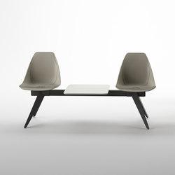 X Beam Bench | Bancs | ALMA Design