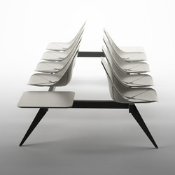 X Beam Bench | Benches | ALMA Design