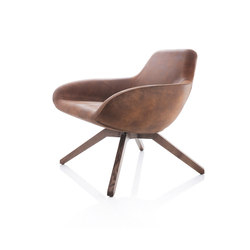 X Big Lounge Chair | Sillones | ALMA Design