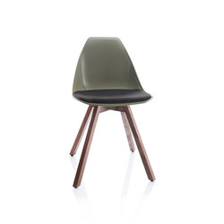 X Wood Chair | Sillas | ALMA Design