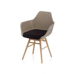 Y Wood2 Armchair | Armchairs | ALMA Design
