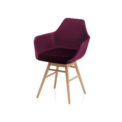 Y Wood2 Armchair | Armchairs | ALMA Design