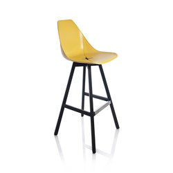 X Wood Stool | Bar stools | ALMA Design