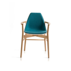 X Wood2 Armchair | Sillas | ALMA Design