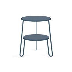 Side table Anatole, full grey blue | Side tables | Hartô