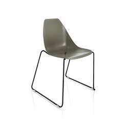 X Sled Chair | Chairs | ALMA Design