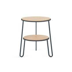 Side table Anatole, slate grey | Side tables | Hartô