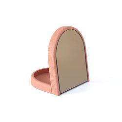 Tidy mirror Armand, apricot pink | Spiegel | Hartô