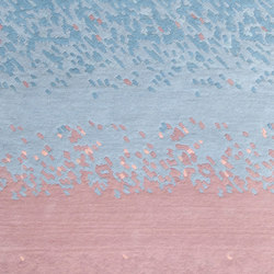 Carpet Aube, faded pink and blue | Rugs | Hartô