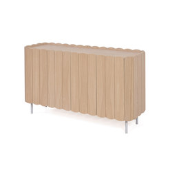 Sideboard Cesar 124cm, natural oak | Sideboards | Hartô
