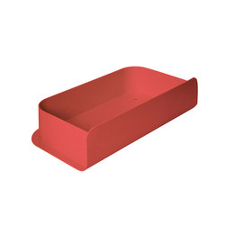 Letter box Charlie, strawberry red | Storage boxes | Hartô