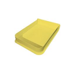 A4 Box Charlie, Lemon Yellow | Storage Boxes | Hartô