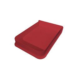 A4 Box Charlie, strawberry red | Storage boxes | Hartô