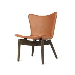 Shell Lounge Chair - Ultra Brandy - Sirka Grey Oak | Armchairs | Mater