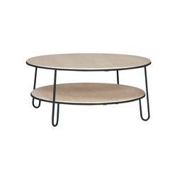 Coffee table Eugenie 90cm, slate grey | Tavolini bassi | Hartô