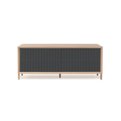 Gabin sideboard 122cm, slate grey | Aparadores | Hartô