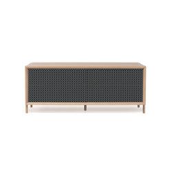 Gabin sideboard 122cm, slate grey | Sideboards | Hartô