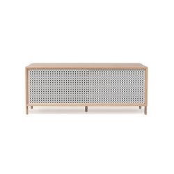 Gabin sideboard 122cm, light grey | Sideboards | Hartô