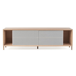 Gabin sideboard 162cm without drawers, light grey | Credenze | Hartô