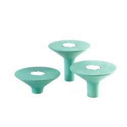 Candle holder Gaspard, vert celadon | Candelabros | Hartô
