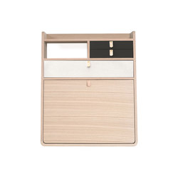 Wall secretary desk Gaston oak 60cm | Escritorios | Hartô