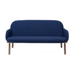 Sofa Georges, dark blue | Sofas | Hartô