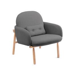 Armchair Georges, slate grey | Sessel | Hartô