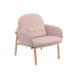 Armchair Georges, pink | Sessel | Hartô