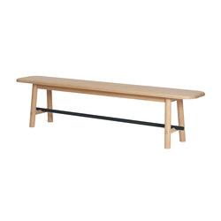 Bench Hector, slate grey | Sitzbänke | Hartô