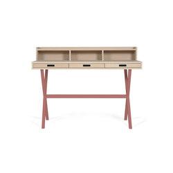 Secretary desk Hyppolite, pomelo pink | Schreibtische | Hartô