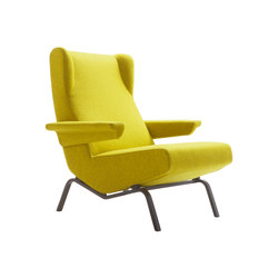 Archi | Armchair Base In Satin-Finish Black Lacquer | Armchairs | Ligne Roset