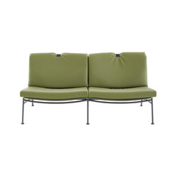 Backpack |Settee Indoor Charbon Lacquered Base | Sofas | Ligne Roset