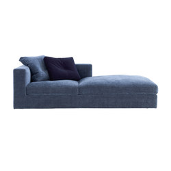 Bergame | Large Chaise Longue Arm Right Complete Item | Chaise longues | Ligne Roset