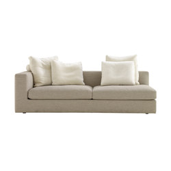 Bergame | Large 1-Armed Settee Right Complete Item | Sofas | Ligne Roset
