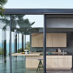 N_Elle | Living by the sea | Cucine parete | Cesar