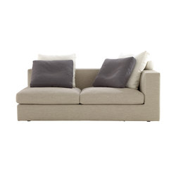 Bergame | Medium 1-Armed Settee (Left) Complete Item | Sofas | Ligne Roset