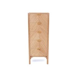 Marius | Tall chest, natural oak | Sideboards / Kommoden | Hartô