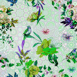 Walls By Patel | Wallpaper Mosaic Garden 1 | Carta parati / tappezzeria | Architects Paper