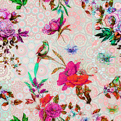 Walls By Patel | Wallpaper Mosaic Garden 2 | Carta parati / tappezzeria | Architects Paper