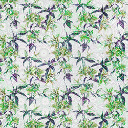 Mosaic Lilies 3 | Wall coverings / wallpapers | Architects Paper