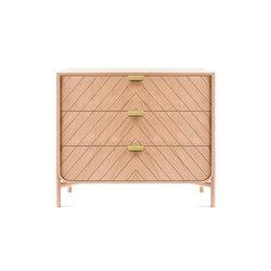 Chest of drawers Marius, natural oak | Aparadores | Hartô