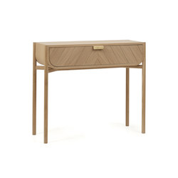 Console 100cm Marius, natural oak | Console tables | Hartô