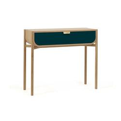 Console 100cm Marius, petrol blue | Console tables | Hartô