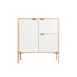 Dresser Marius, light grey | Sideboards | Hartô
