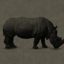 Walls By Patel | Wallpaper Rhino 1 | Wall coverings / wallpapers | Architects Paper