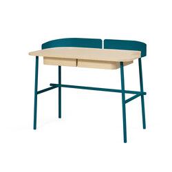 Desk Victor, petrol blue | Scrivanie | Hartô