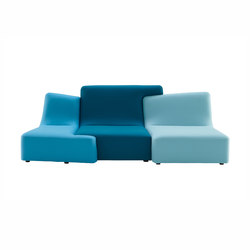 Confluences | 3-Seat Settee Multicolour Version | Sofas | Ligne Roset
