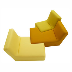 Confluences | Large Conversation Settee Multicolour Version | Sofas | Ligne Roset
