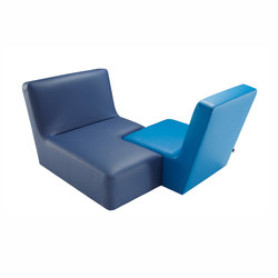Confluences | Small Conversation Settee Multicolour Version | Sofas | Ligne Roset