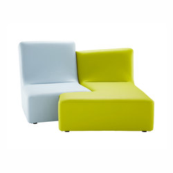 Confluences | Toi Et Moi Chair Multicolour Version | Sofas | Ligne Roset